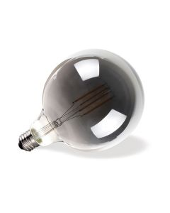 Λάμπα LED Filament Dark Grey Globe G125 E27 7W 2700K CL DIM VK/05108/D/E/DG/W