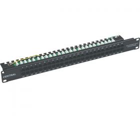Patch Panel 50P Voice CAT3 1U  01-66-477/50P