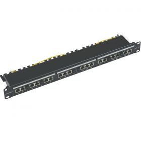 Patch Panel 24P UTP/ FTP CAT5E 1U JE  01-66-470/24
