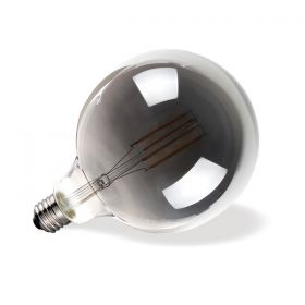 Λάμπα LED Filament Dark Grey Globe G95 E27 7W 2700K DIM VK/05123/D/E/DG/W